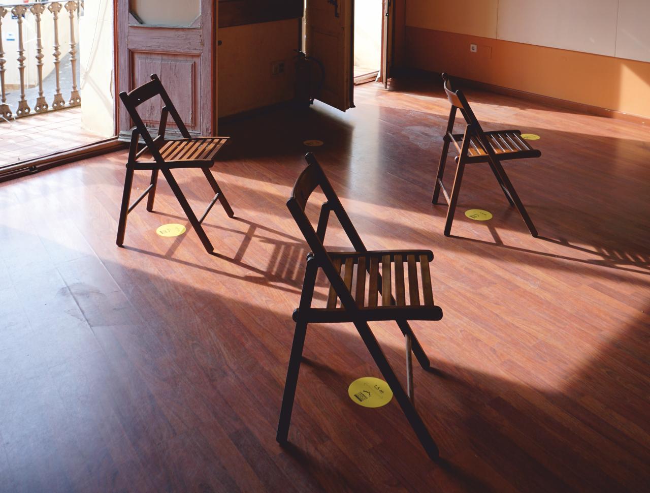 disposicio cadires sala