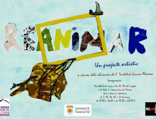 L'art interdisciplinar uneix l'Institut Jaume Almera i La Massa