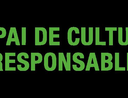 """La Massa CCV obté el distintiu """"Espai de Cultura Responsable"""""""